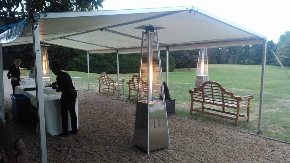 Outdoor Flame Heater Hire Ropa