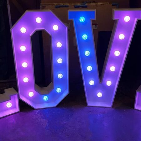 Giant Letter Hire