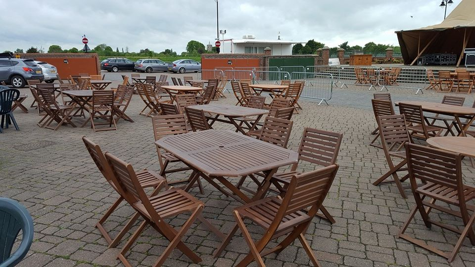Wooden Garden Furniture Hire