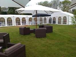 Wedding marquee package hire dick ropa entertainments - Garden furniture kings lynn ...